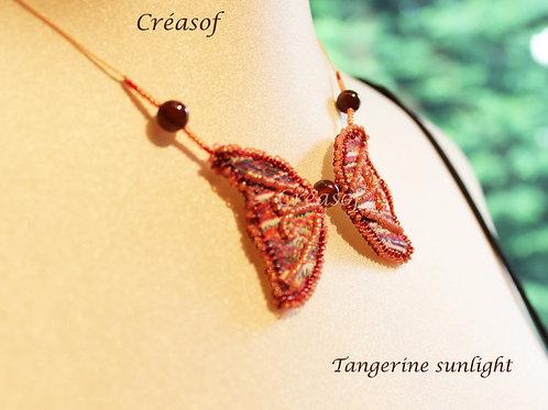 Collier Tangerine Sunlight