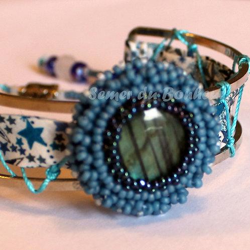 "Bracelet ""Dream in Blue"""