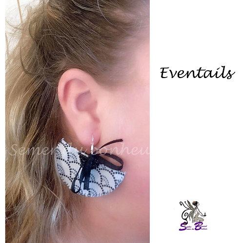 """Boucles d'oreille """"Eventails"""""""