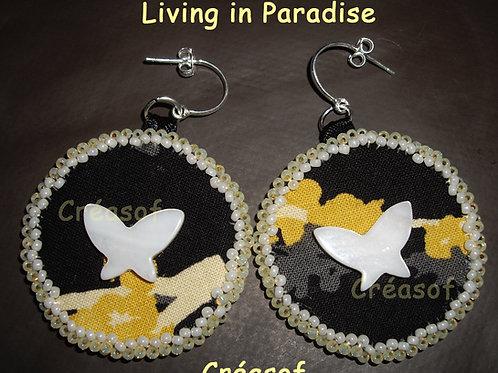 Boucles d'Oreille Living in Paradise