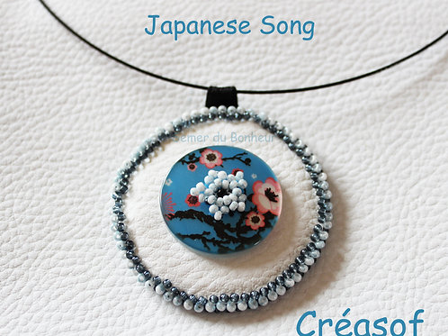 """Collier """"Japanese Song"""""""
