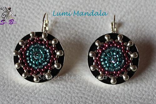 Boucles d'Oreille Lumi Mandala