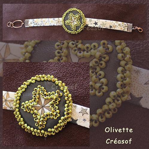 "Bracelet ""Olivette"""