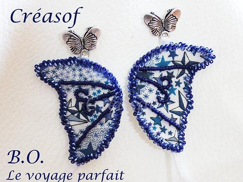 Boucles d'Oreille Le Voyage Parfait