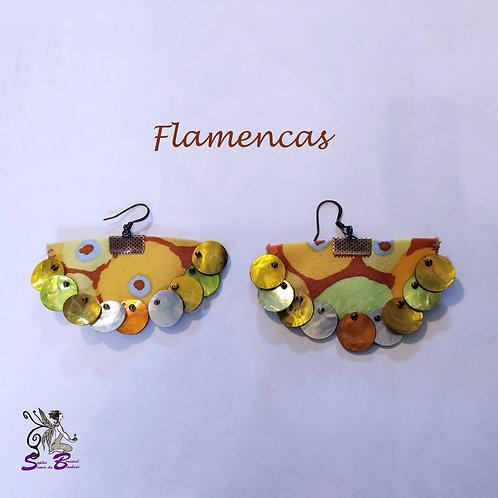 """Boucles d'oreille """"Flamencas"""""""
