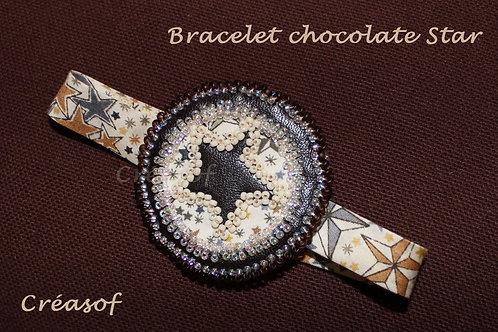 "Bracelet ""Chocolate Star"""