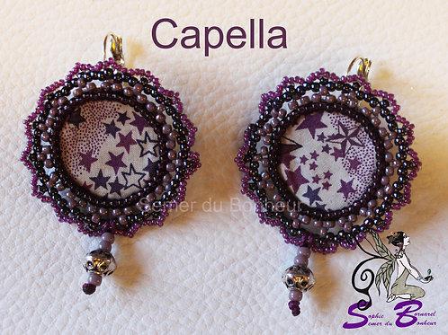 Boucles d'oreilles Capella