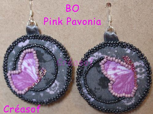 Boucles d'Oreille Pink Pavlova