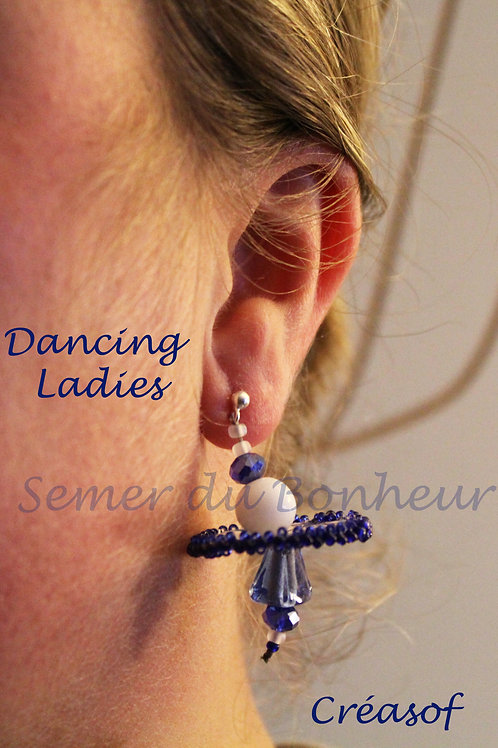 Boucles d'Oreille Dancing Ladies