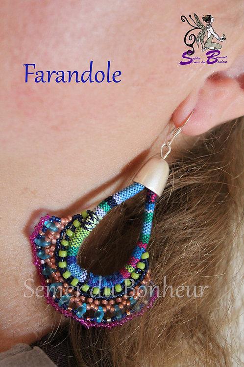 """Boucles d'oreille """"Farandole"""""""