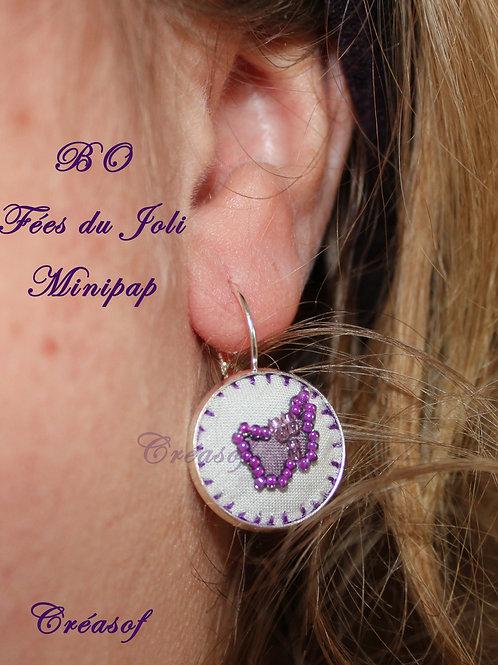 Boucles d'oreille Fées du Joli Minipaps