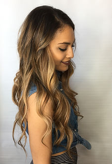 Balayage, Golden Blonde Hair, Brunette Balayage, Hair Extensions, Babe Hair Extensions