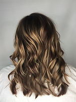 Glossy Blonde, Balyage, Lived in color,Goldwell color