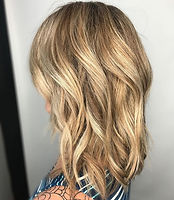 Blonde Hair, Golden Blonde Hair, Beachy waves, Bend Oregon