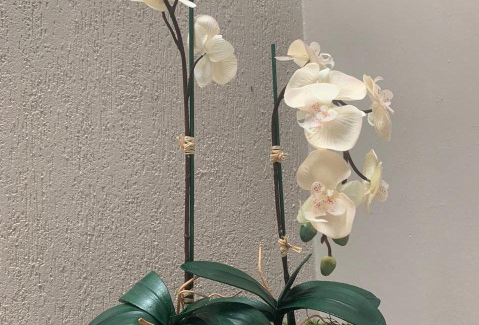 Arreglo Floral Panna negra