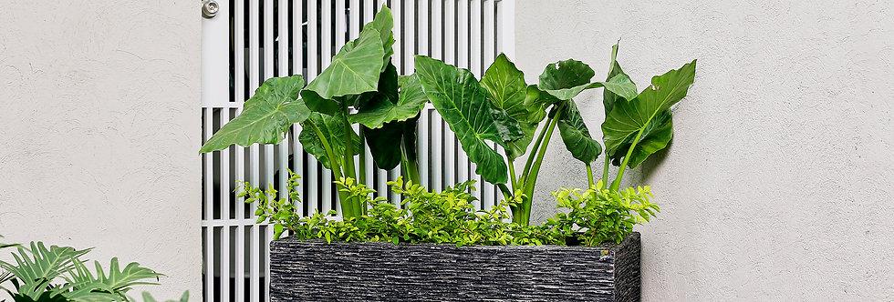 Jardinera 100 Imitación Laja