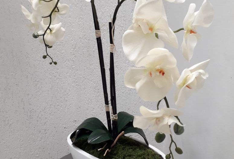 Arreglo Floral Artificial Panna 30