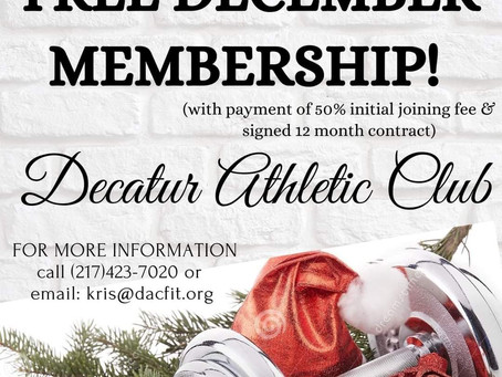 Our Gift To You! December 2020 Membership Promotion!