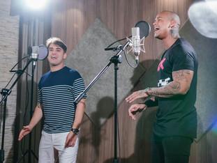 Tayrone grava música para o Carnaval com a participação de Léo Santana