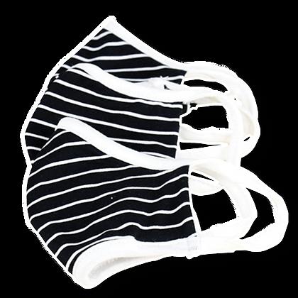 Kids Striped Fashion Mask