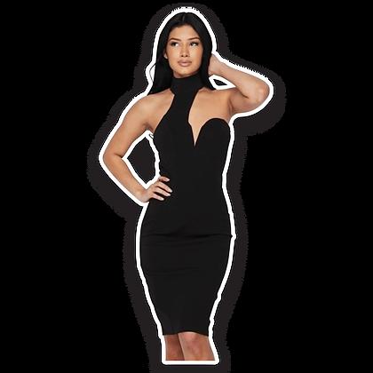 Ebony - Sleeveless Dress