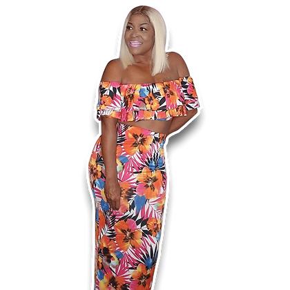 Shantrice - Vibrant Two Piece