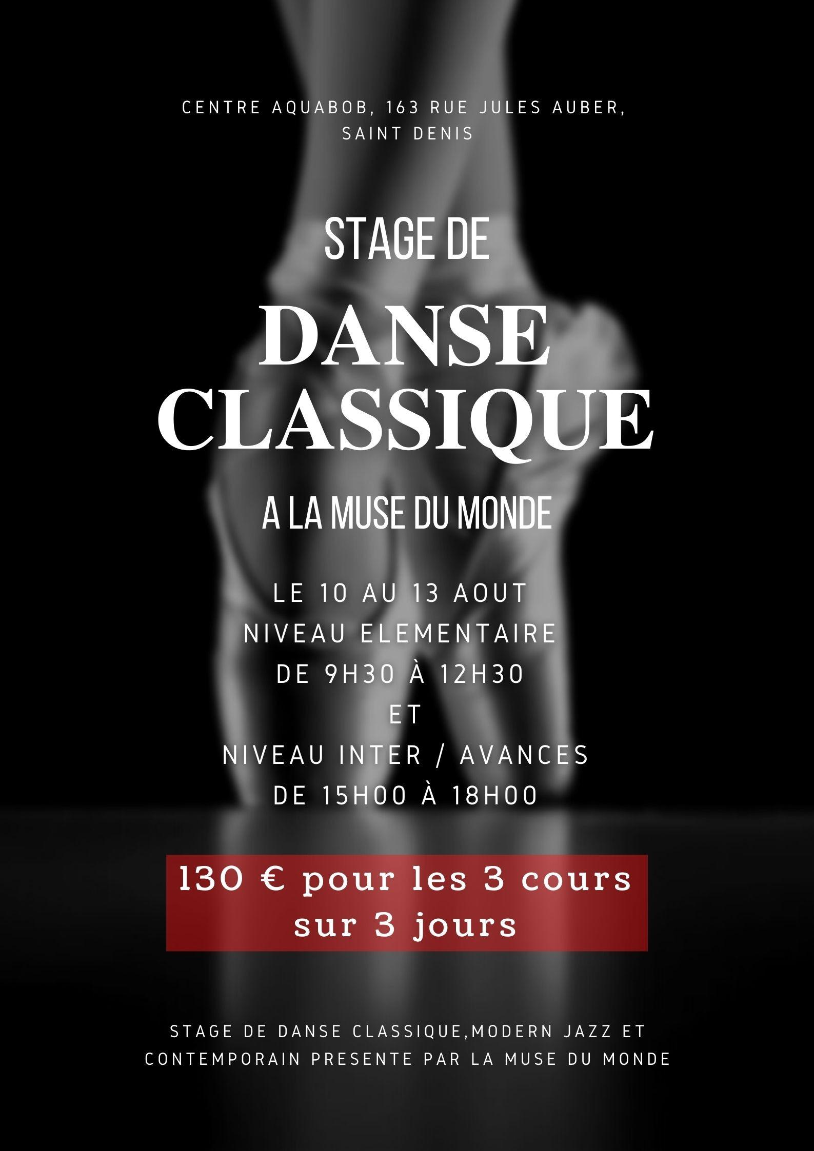 Stage de Danse (Débutants)