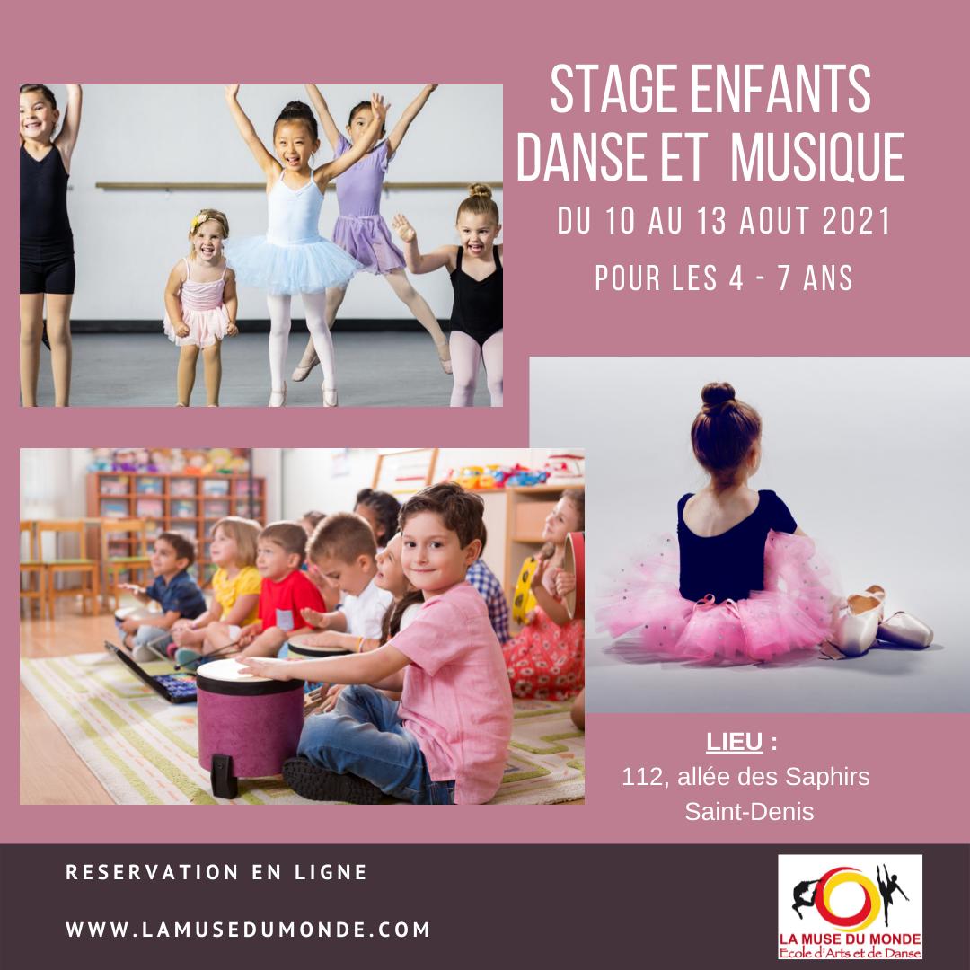 Stage artistique – danse et musique