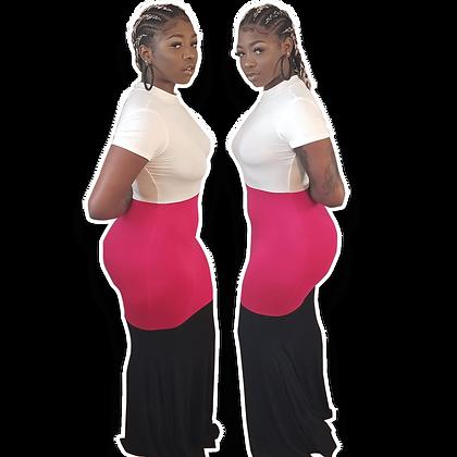 Faith Fuchsia Maxi Dress