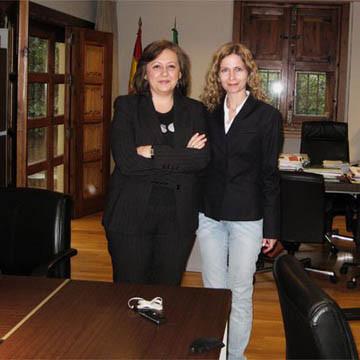 M. DEL MAR VILLAFRANCA DIRECTORA DE LA ALHAMBRA