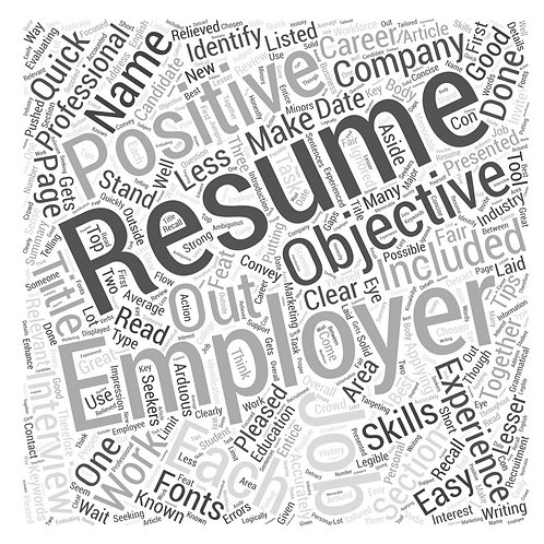 Free Download of Resume Tips