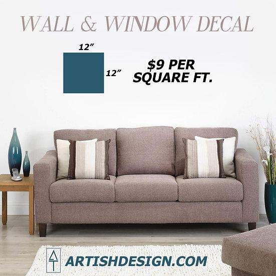 Wall & Window Decal