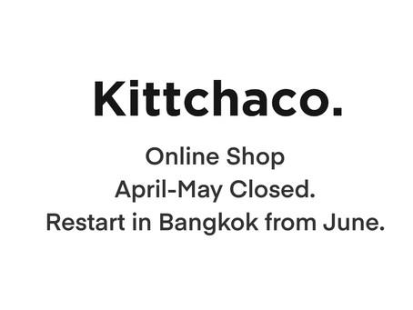 Kittchaco. Online Shopについてのお知らせ