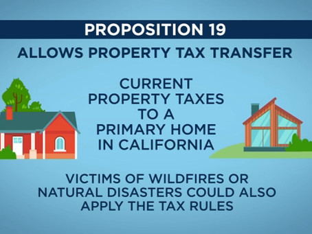 PROP 19 IS COMING, WHAT SHOULD YOU DO?
