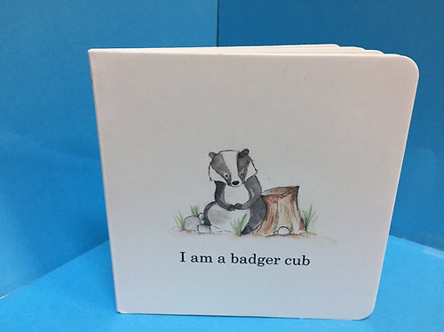 I am a badger cub Book