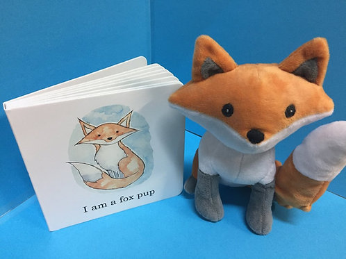 Fox plush (book sold separately)