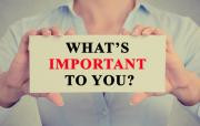 What's REALLY Important to You?