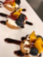 Dessert at Create-a-Cook Camp