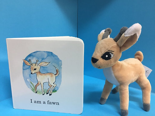 Fawn plush ( Book sold separately)