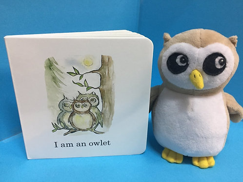 Owlet plush ( Book sold separately)