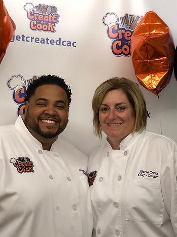 Chef Jarrett Young & Chef Maria Crann