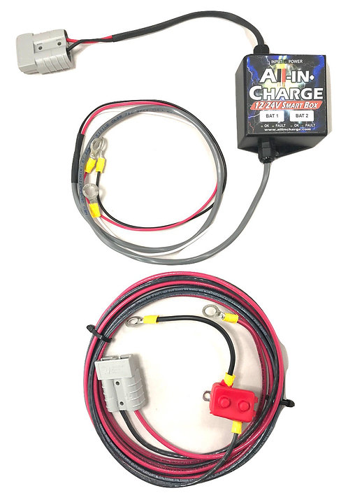 12/24v Smart Box DC-DC Charger