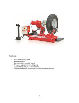 Aston® Heavy-Duty Tire Changer for Truck ATC-1600
