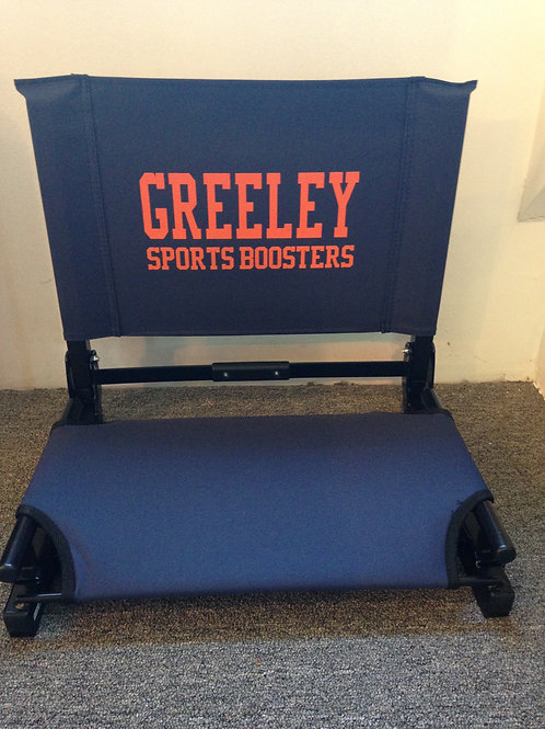 Greeley Sports Boosters Stadium Chair
