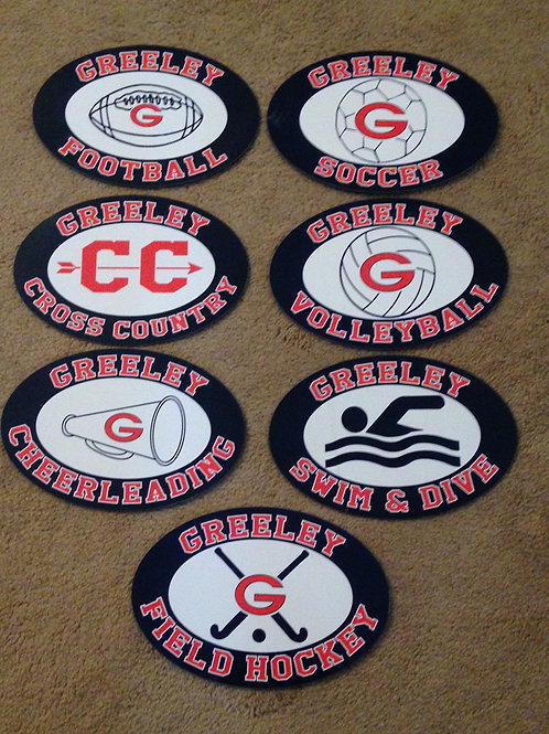 Greeley Sports Boosters Magnet