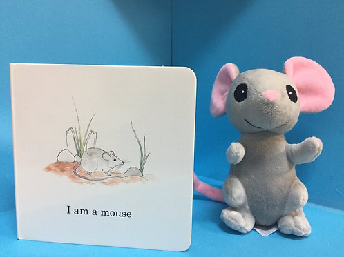 Mouse Plush ( Book sold separately)