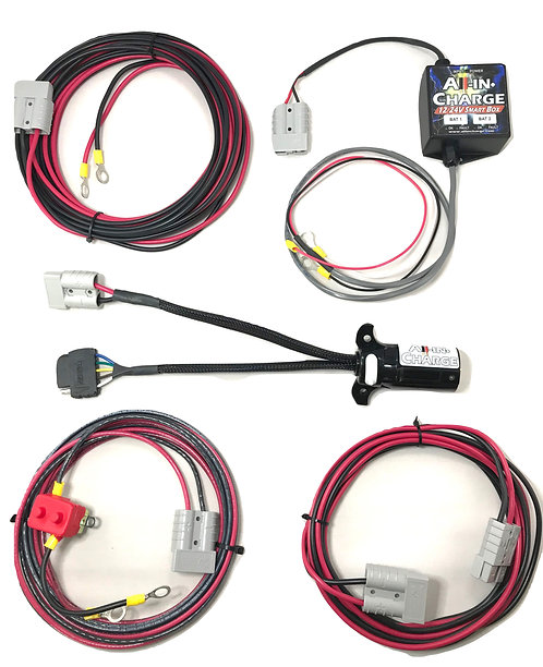 Tow-In-Charge & 12/24v Smart Box DC-DC Combo
