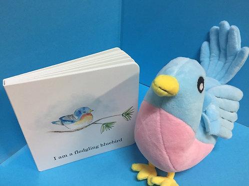 Bluebird plush ( Book sold separately)
