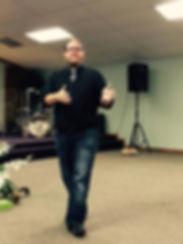Lucas Levin Preaching