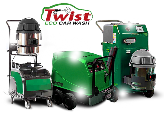 Twist Eco steam car wash equipment